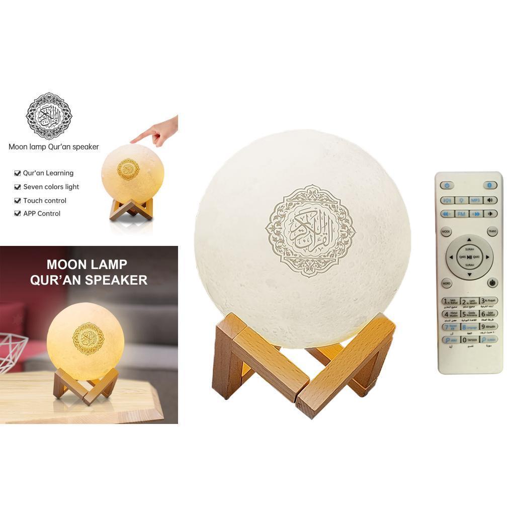 Di-notte-del-LED-3D-Lampada-con-Supporto-di-Legno-Da-Tavolo-Da-Tavolo-a-Casa miniatura 5