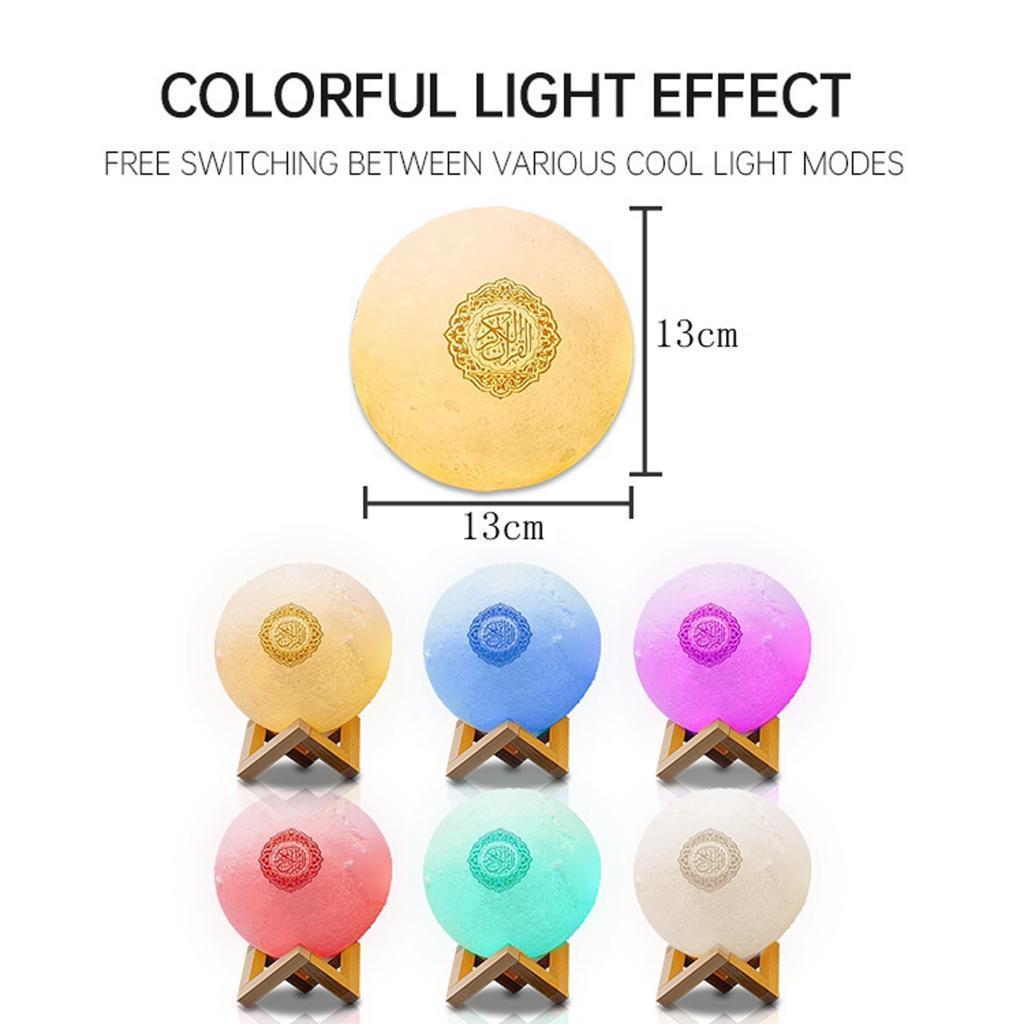 Di-notte-del-LED-3D-Lampada-con-Supporto-di-Legno-Da-Tavolo-Da-Tavolo-a-Casa miniatura 8