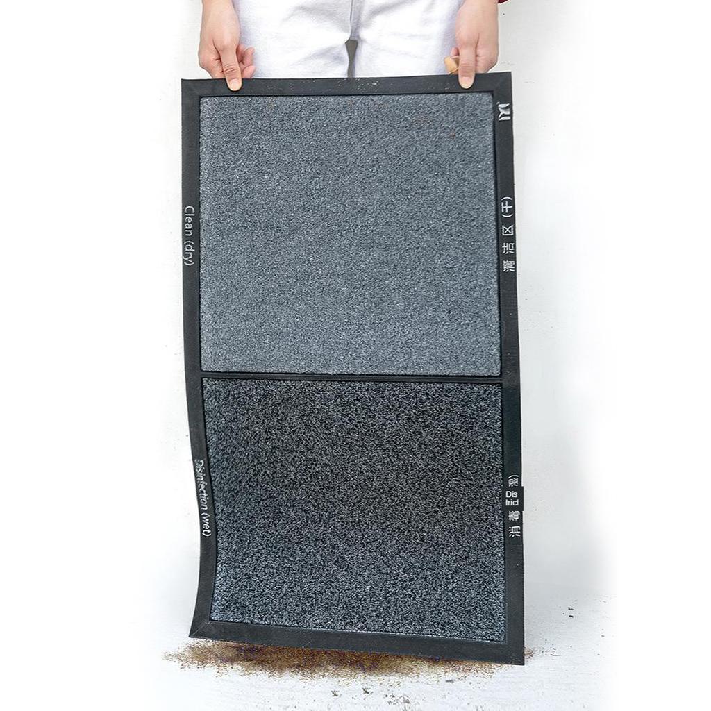 Zerbino-Tappetino-antiscivolo-Lavaggio-a-mano-Tappetino-di-lusso-per-ufficio miniatura 6
