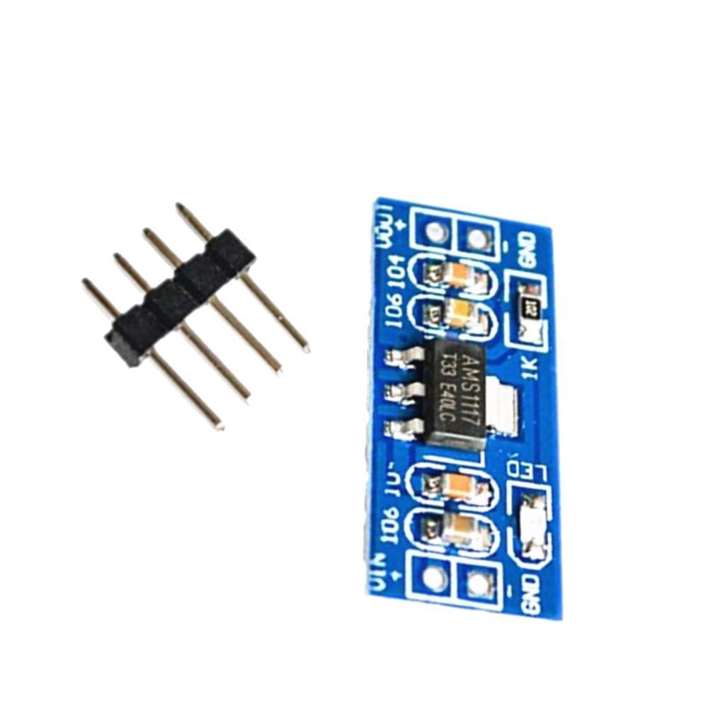 AMS1117-DC-Voltage-Regulator-Power-Supply-Module thumbnail 3
