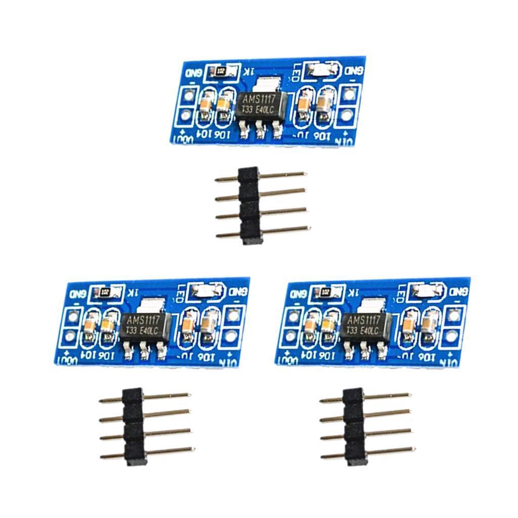 AMS1117-DC-Voltage-Regulator-Power-Supply-Module thumbnail 4