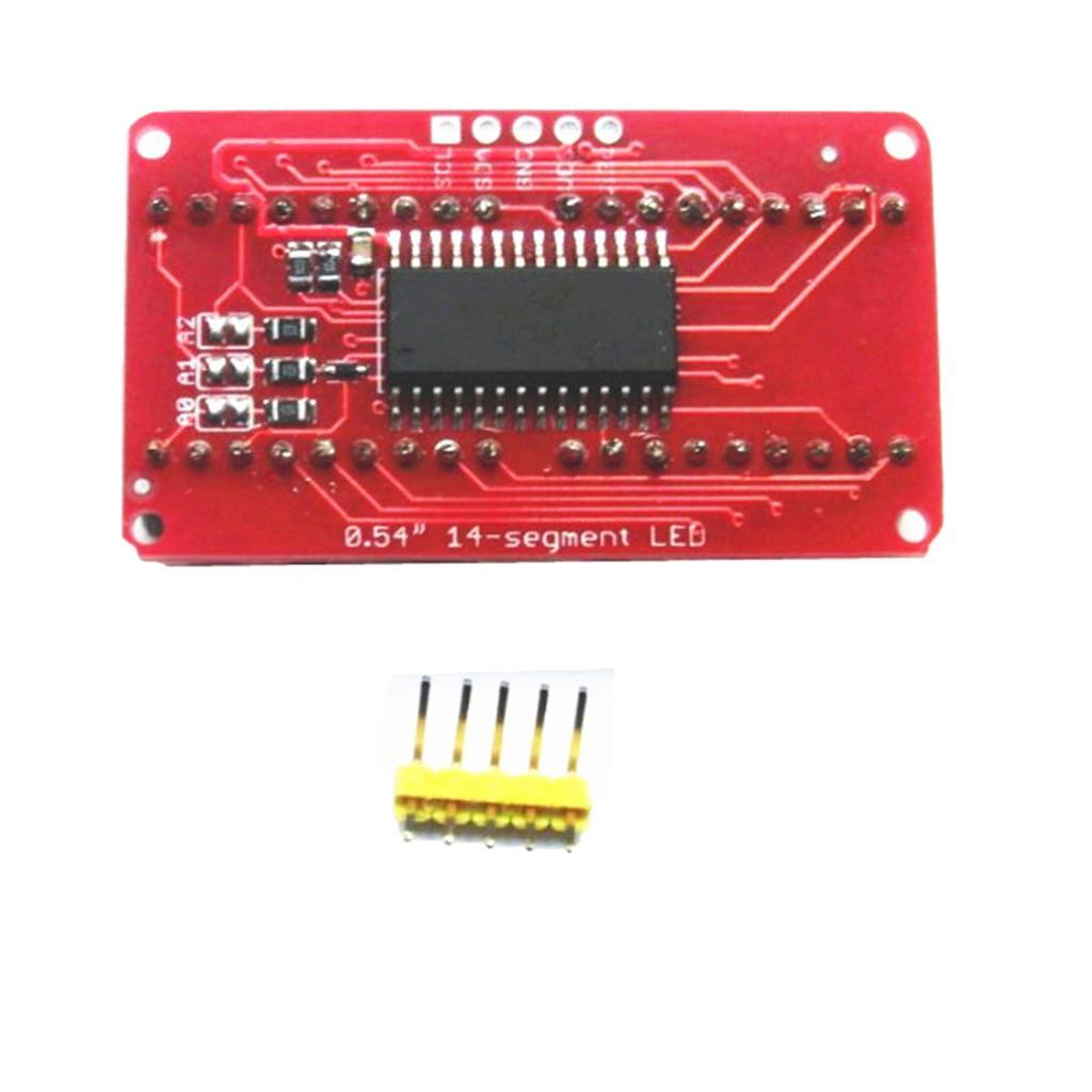 0-54-034-4-Bit-Digital-LED-Display-Module-I2C-Interface-For-14-Segment thumbnail 9