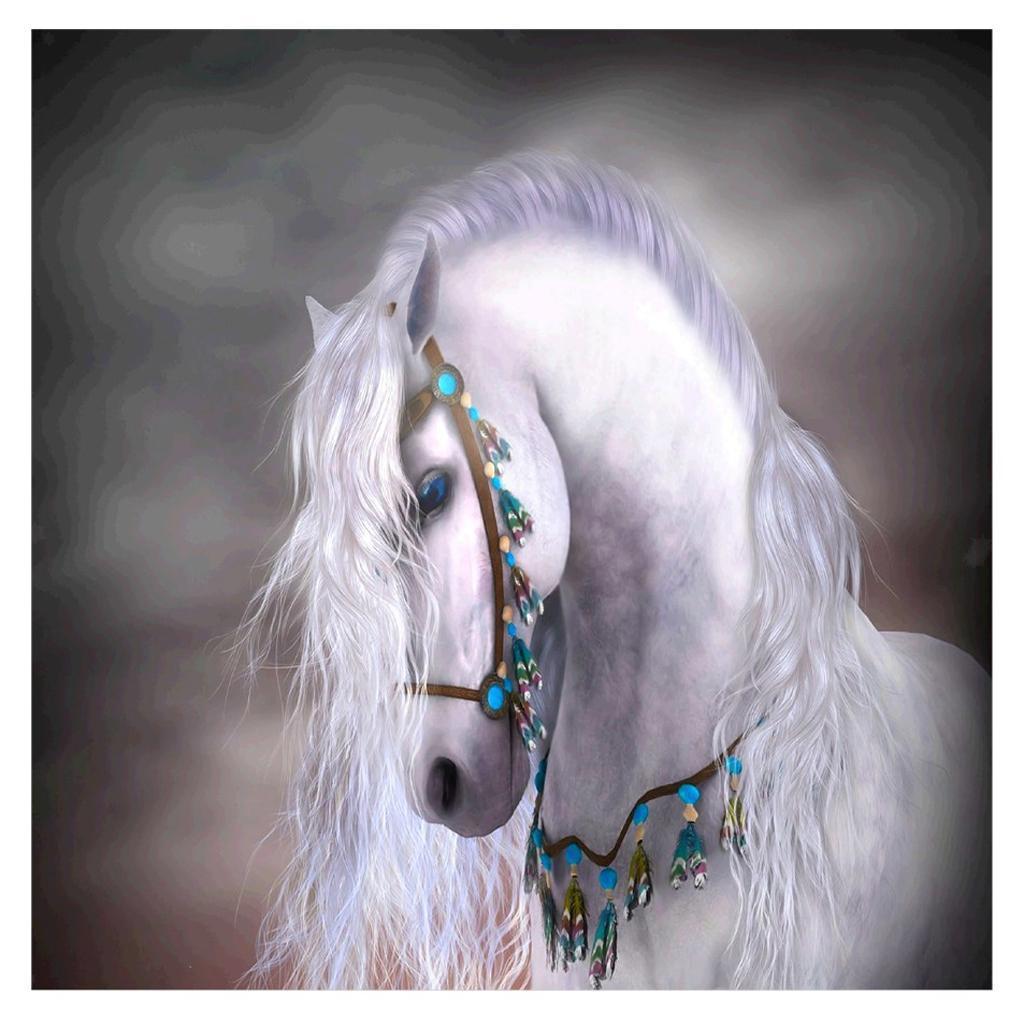 5d diy diamond painting animal resin cross stitch kit for home mosaic decor