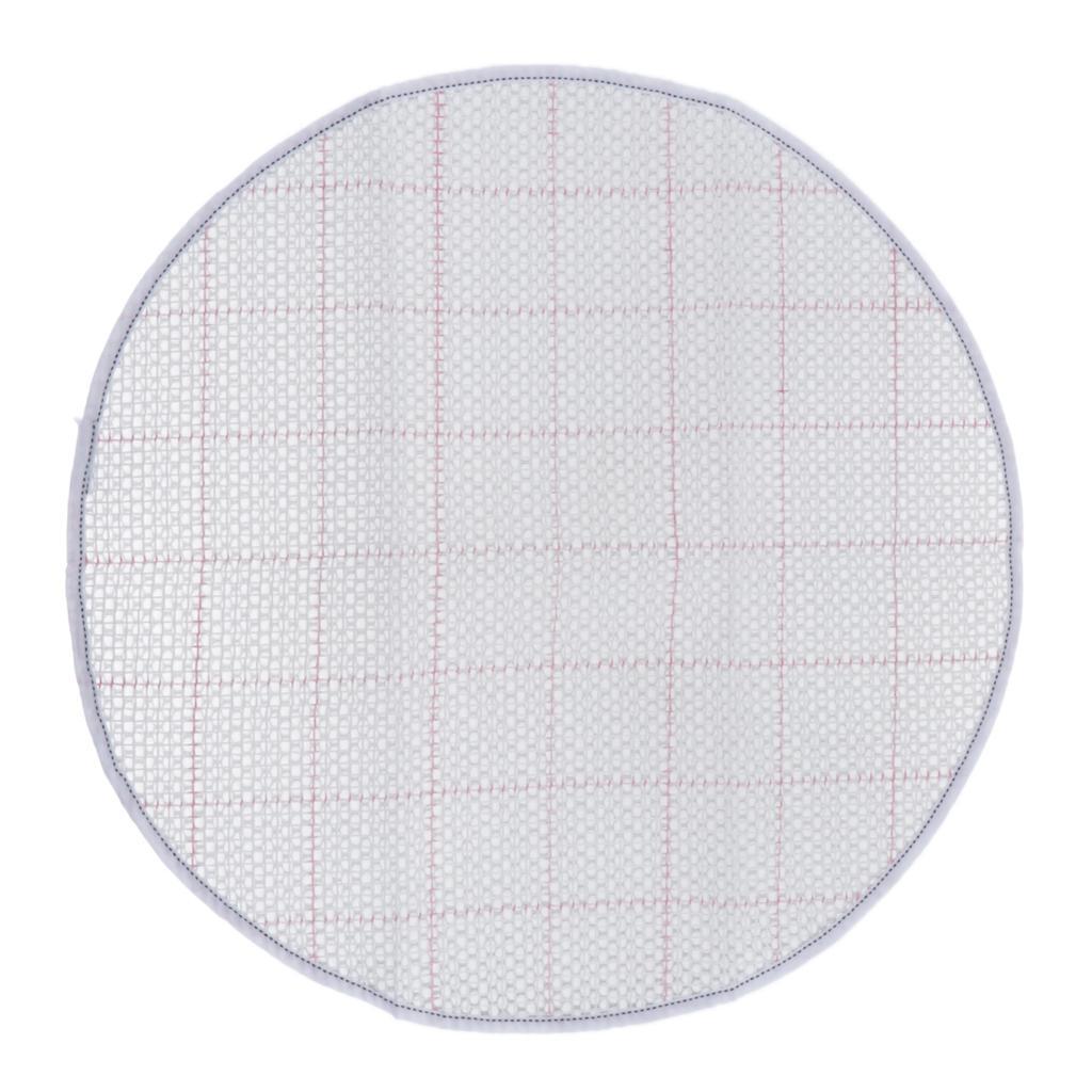 Latch Hook Rug Kits Bear Crocheting Yarn Cushion Mat DIY Thread Carpet 50cm