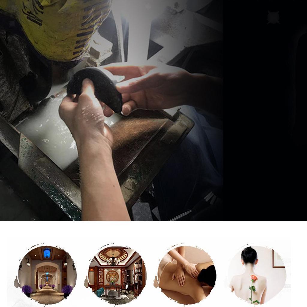 thumbnail 14 - 4 Teile/satz Schwarz Basalt Heißen Stein Massage für Spas Massage Therapie