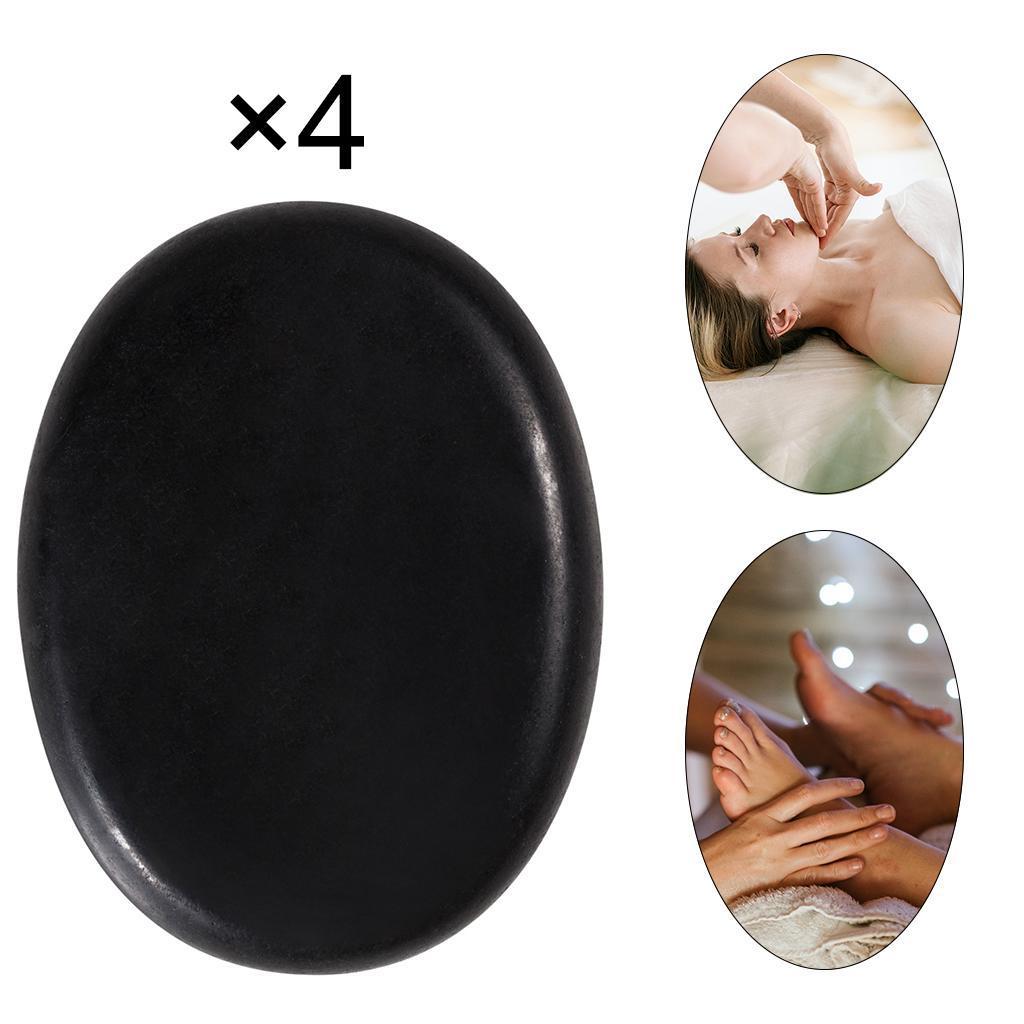thumbnail 20 - 4 Teile/satz Schwarz Basalt Heißen Stein Massage für Spas Massage Therapie