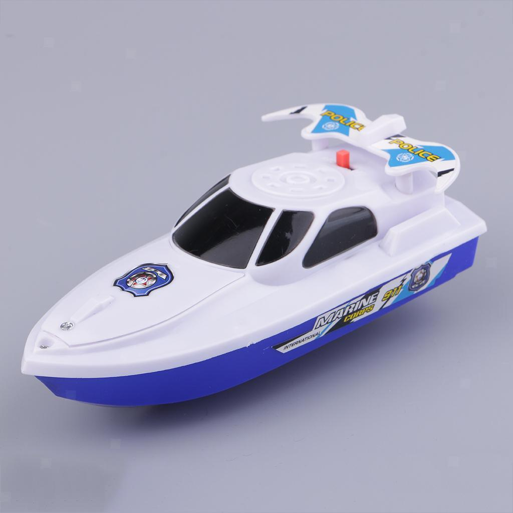 Batterien-Boot-Schwimmen-Badespielzeug-Badewanne-Spielzeug-fuer-Baby-Kinder Indexbild 9