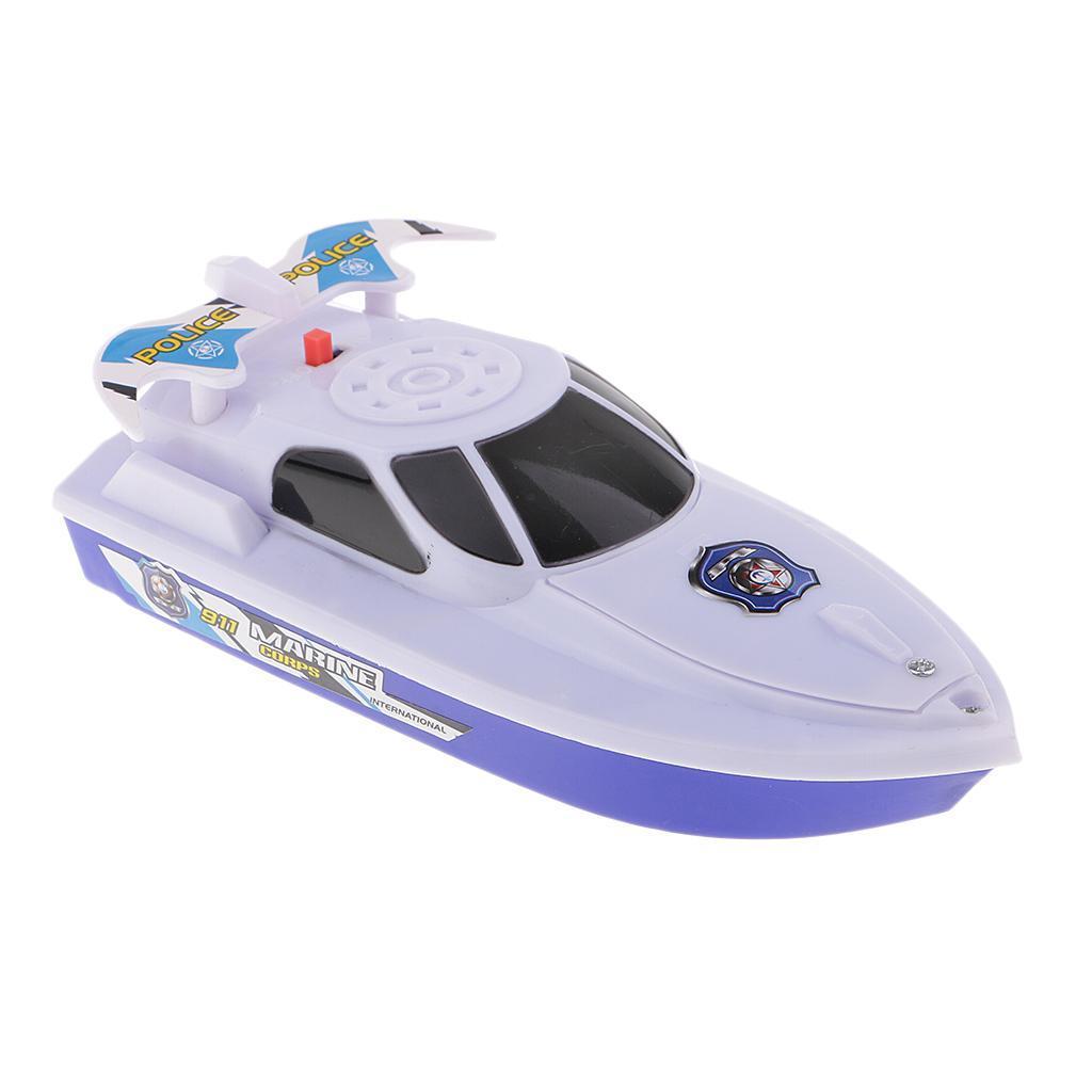 Batterien-Boot-Schwimmen-Badespielzeug-Badewanne-Spielzeug-fuer-Baby-Kinder Indexbild 12