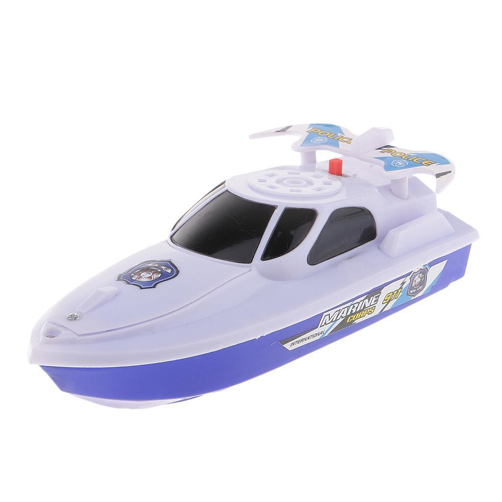 Batterien-Boot-Schwimmen-Badespielzeug-Badewanne-Spielzeug-fuer-Baby-Kinder Indexbild 10