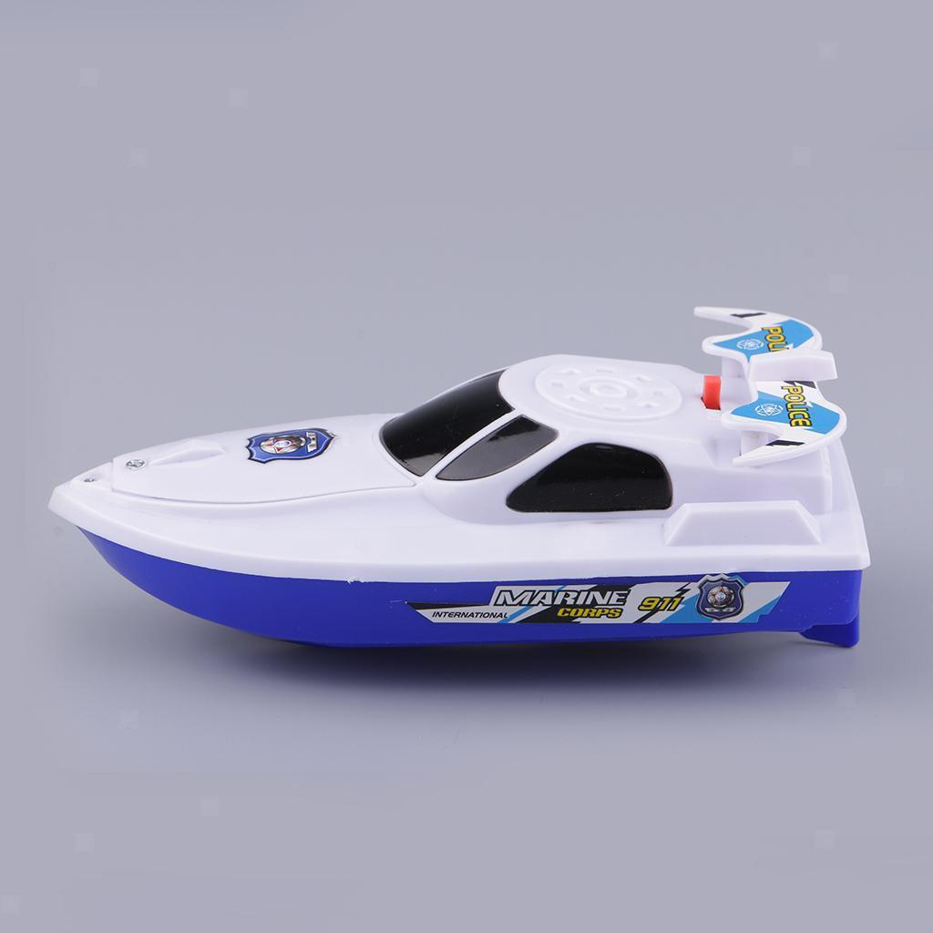 Batterien-Boot-Schwimmen-Badespielzeug-Badewanne-Spielzeug-fuer-Baby-Kinder Indexbild 8
