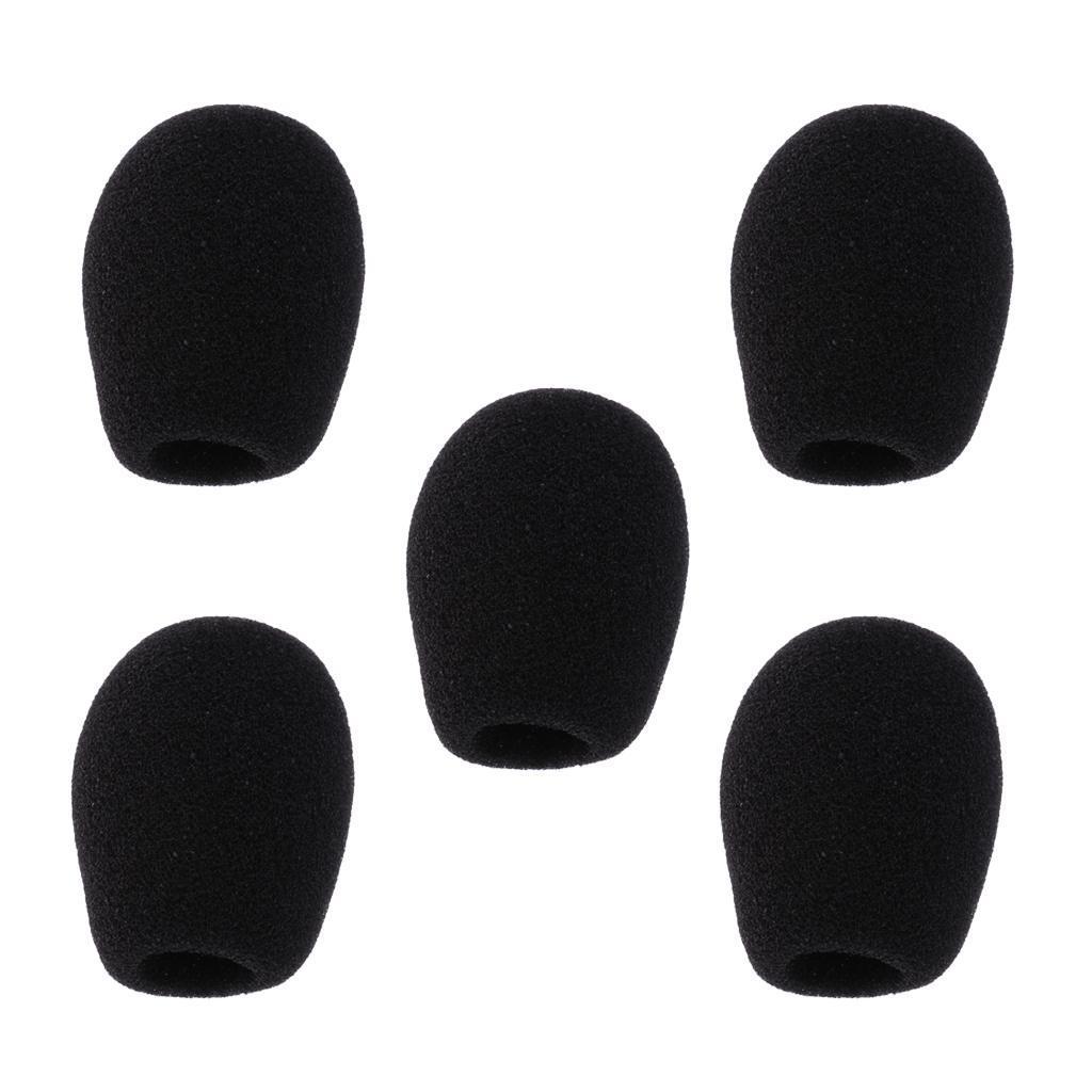 5-Pezzi-Microfono-parabrezza-spugna-per-conferenza-Gooseneck-Microfono miniatura 13