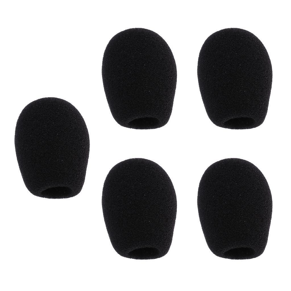 5-Pezzi-Microfono-parabrezza-spugna-per-conferenza-Gooseneck-Microfono miniatura 14
