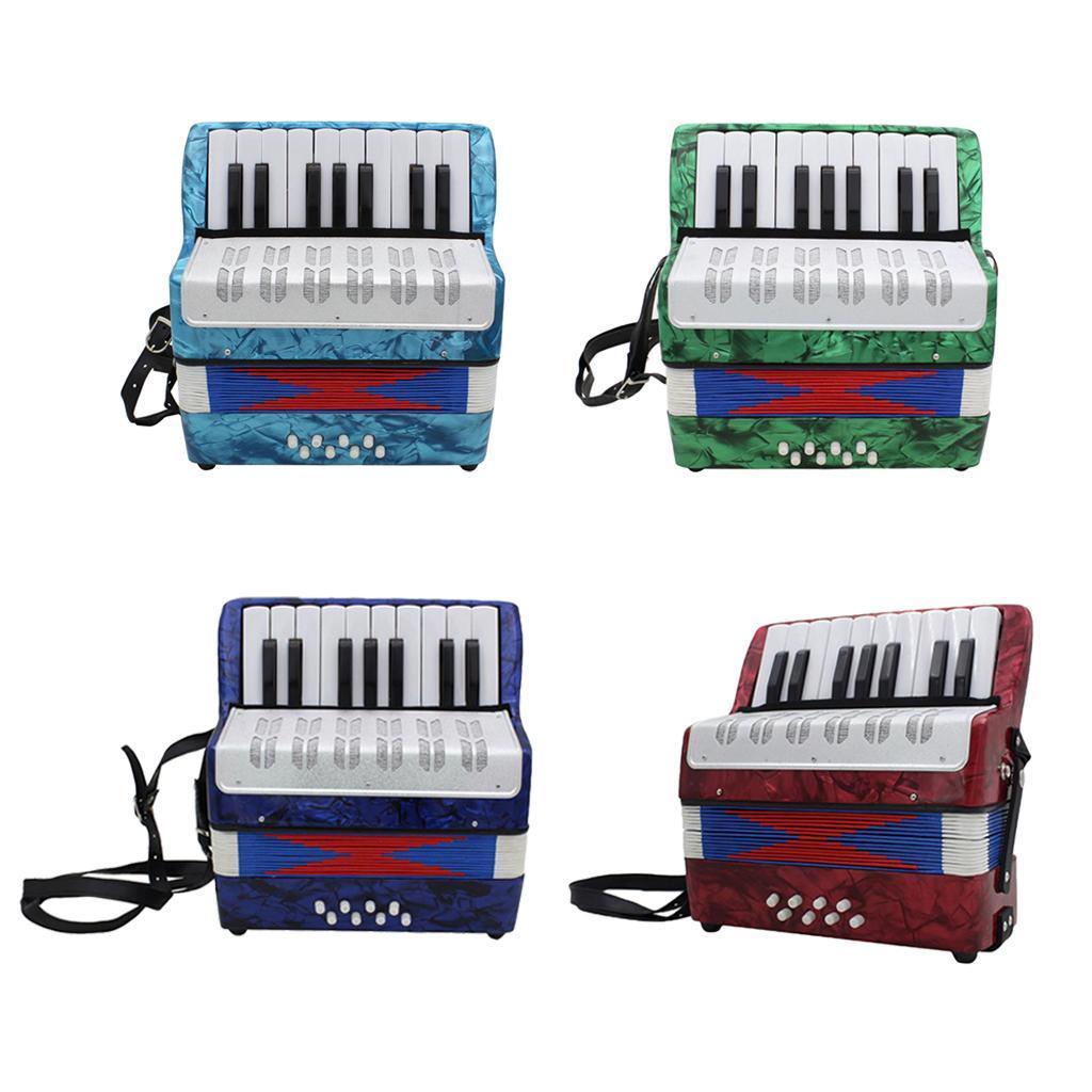 17-Noten-Kinder-Akkordeon-Ziehharmonika-Musikinstrument-fuer-die-Leistung Indexbild 3