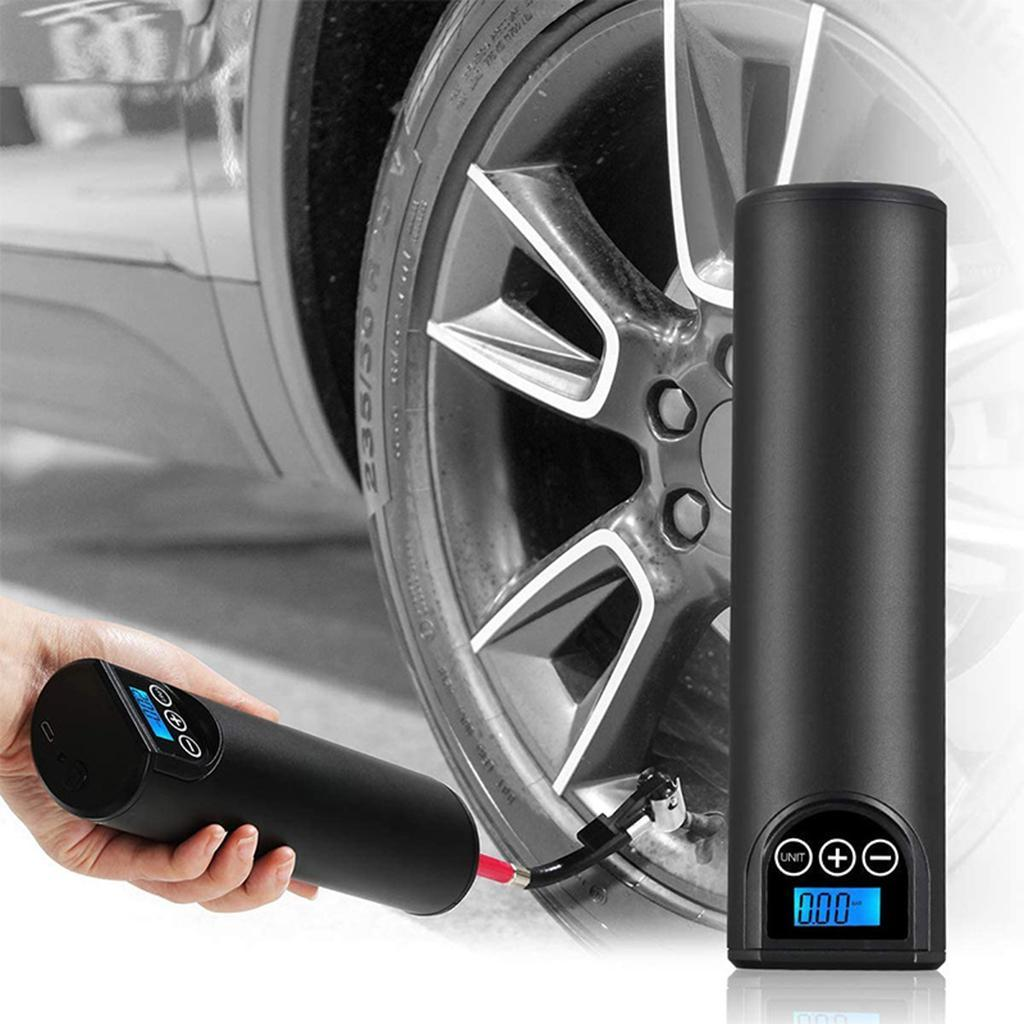 12V 150PSI Portable Mini Tires Inflator USB Charging Electric Air Pump