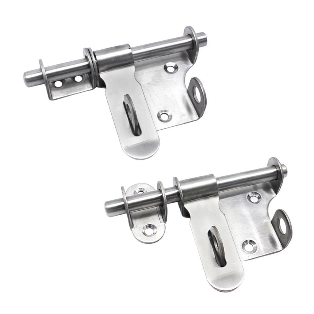 2x-vite-per-cancello-in-acciaio-inossidabile-chiusura-di-sicurezza-porta miniatura 11