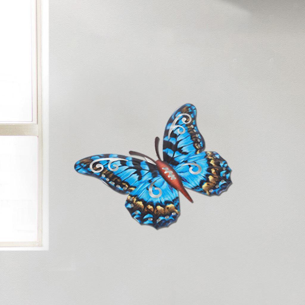 miniatura 30 - Farfalla Natura Opere D'arte Della Parete Appeso Animale Scultura per la