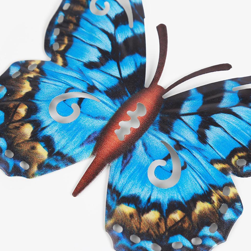 miniatura 28 - Farfalla Natura Opere D'arte Della Parete Appeso Animale Scultura per la