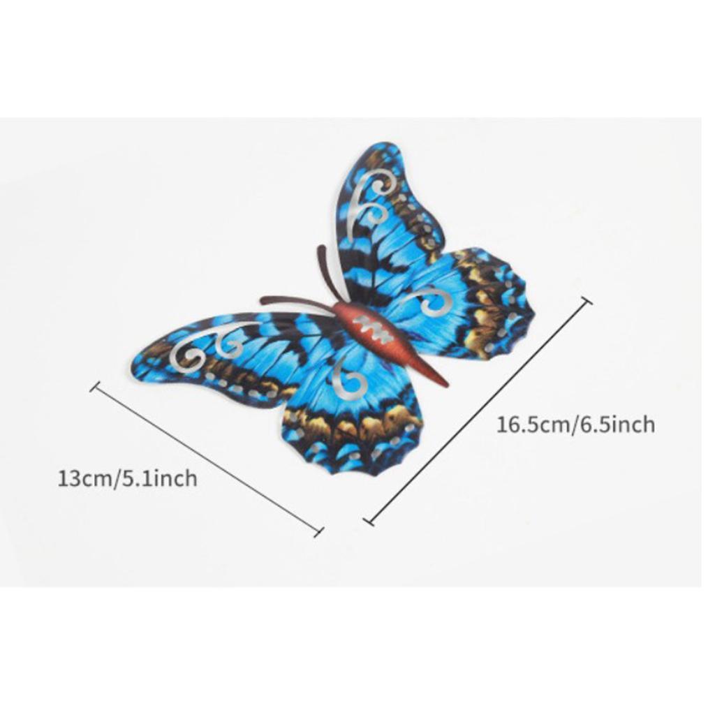 miniatura 31 - Farfalla Natura Opere D'arte Della Parete Appeso Animale Scultura per la