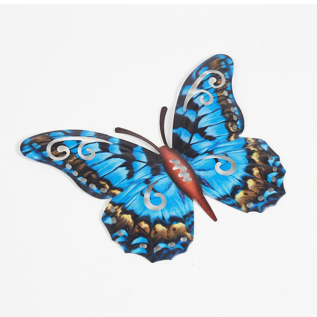miniatura 24 - Farfalla Natura Opere D'arte Della Parete Appeso Animale Scultura per la