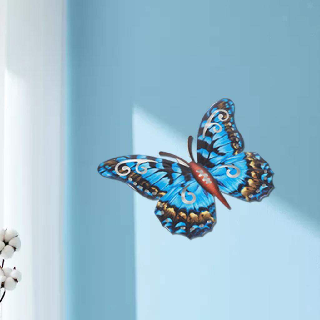 miniatura 32 - Farfalla Natura Opere D'arte Della Parete Appeso Animale Scultura per la