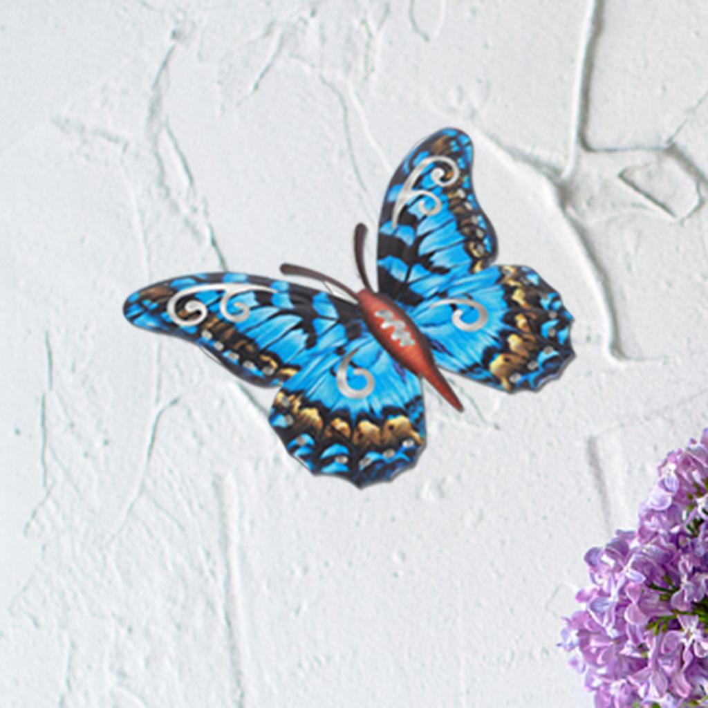 miniatura 25 - Farfalla Natura Opere D'arte Della Parete Appeso Animale Scultura per la