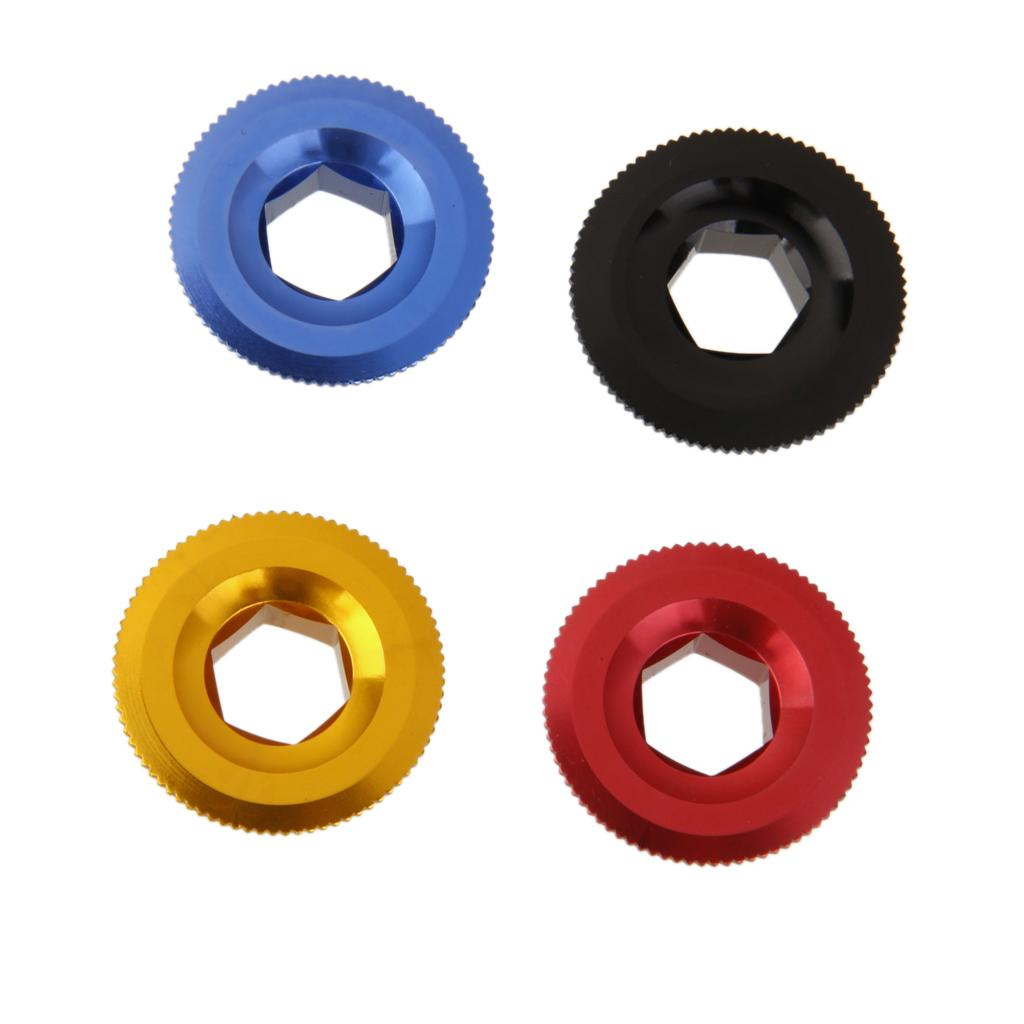 Anodized Arm Fixing Bolt Bike Bicycle Crank Chainset Screw Axis For Shimano  I2