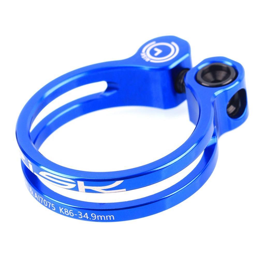 Bicycle 31.8 34.9 27.2 Clamp Bike Seat Post Seatpost MTB Collar Quick Release QR