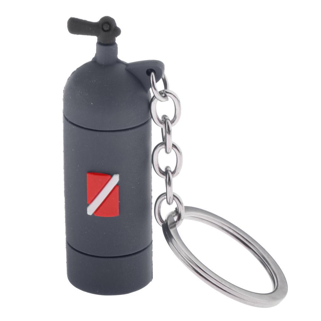 Mini-Diving-Tank-Key-Chain-Novelty-Dive-Air-Cylinder-Car-Keys-Diver-Bag-Tag-Ring thumbnail 4