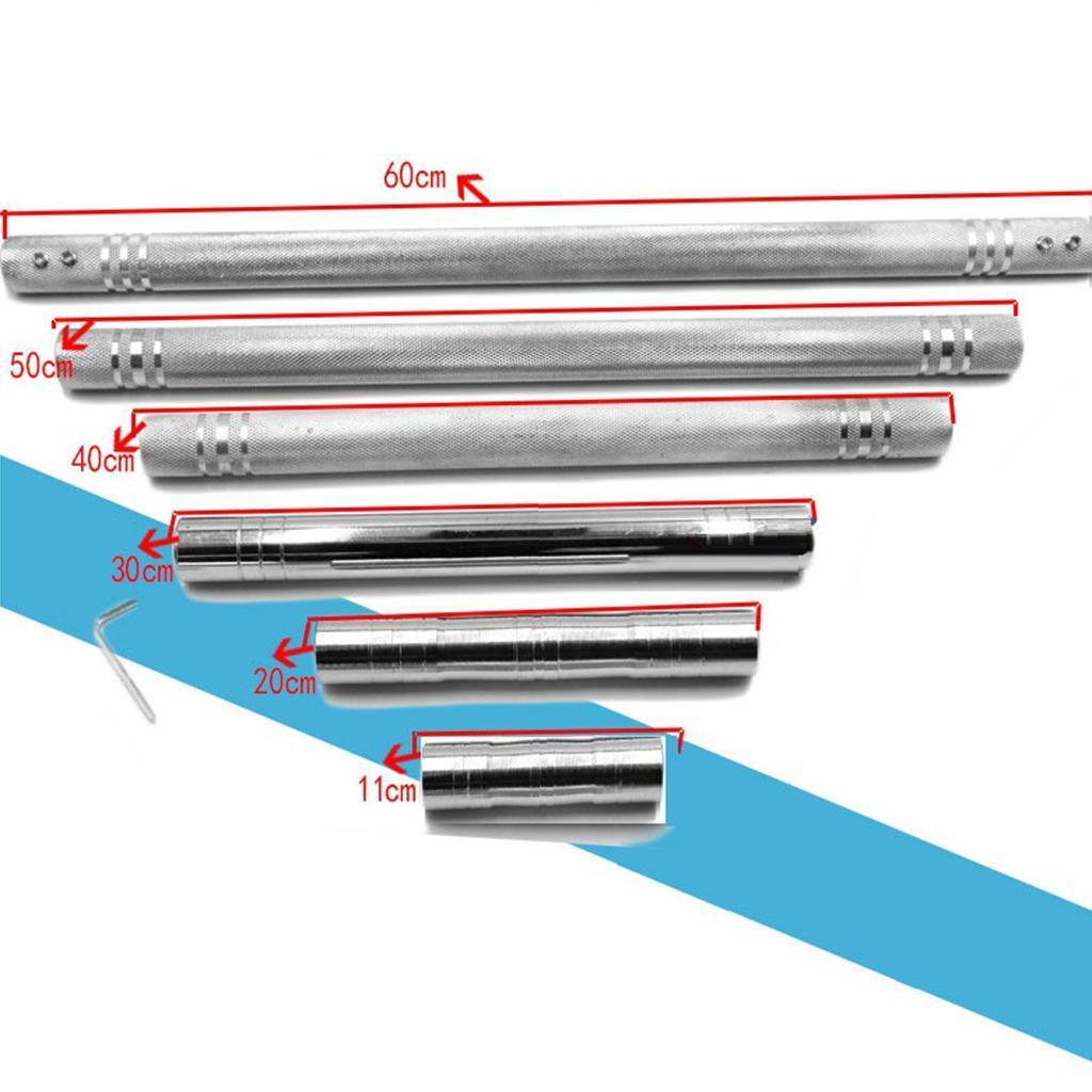 Stahl Hantel Verbindungsstange Schraube Barbells Extender Rod Connect DIY Joint
