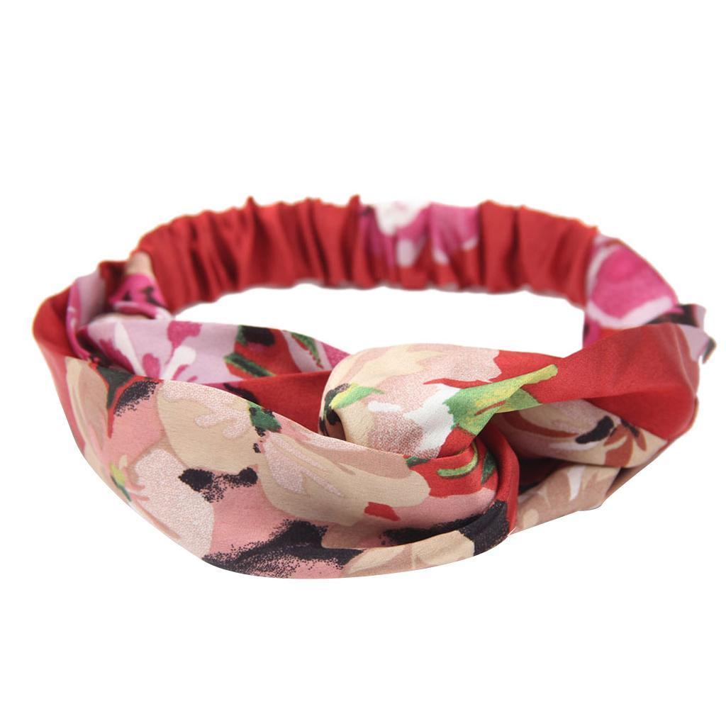miniatura 3 - Donna Floreale Twisted Knotted Fascia Capelli Head Wrap Turband, Idea Regalo