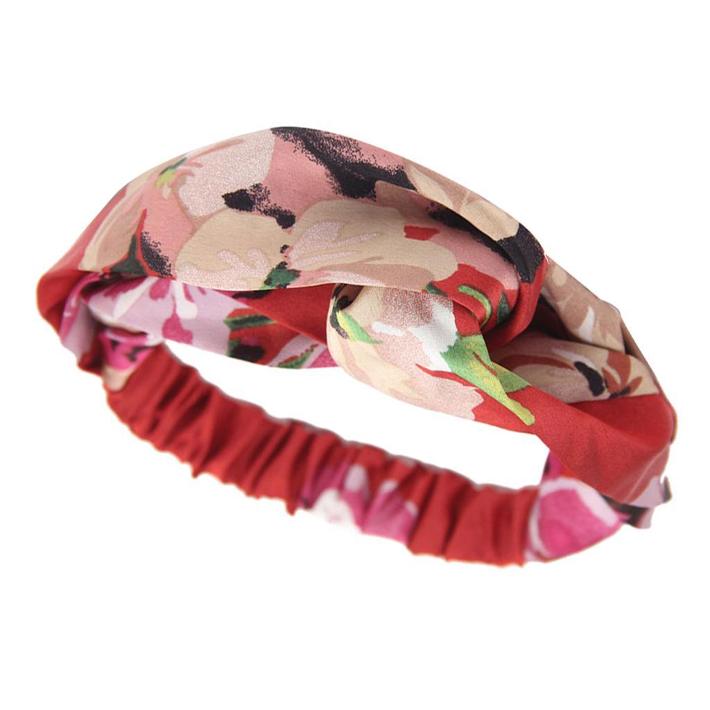 miniatura 5 - Donna Floreale Twisted Knotted Fascia Capelli Head Wrap Turband, Idea Regalo