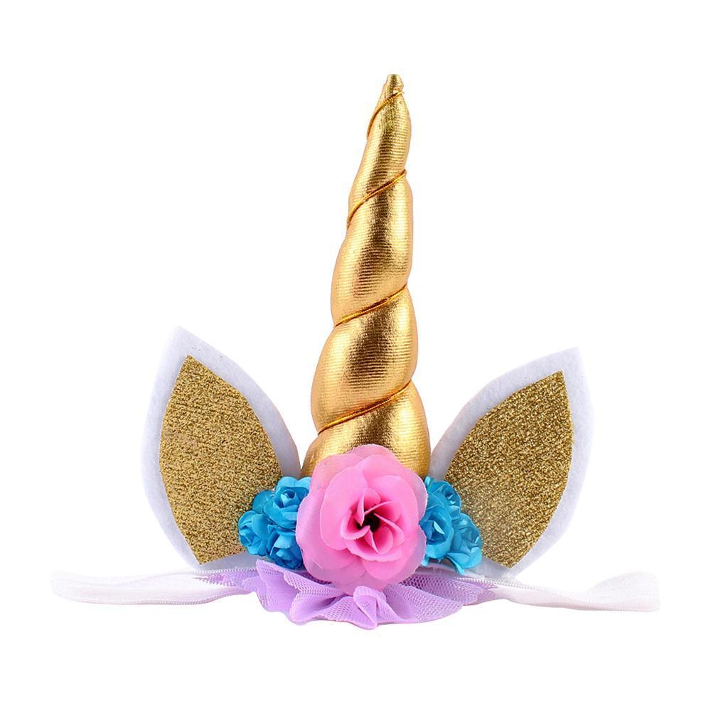 Bandeaux-Cheveux-Serre-Tete-Enfant-Fille-Couronne-Forme-Photo-Prop-Bebe-Bijoux miniature 13
