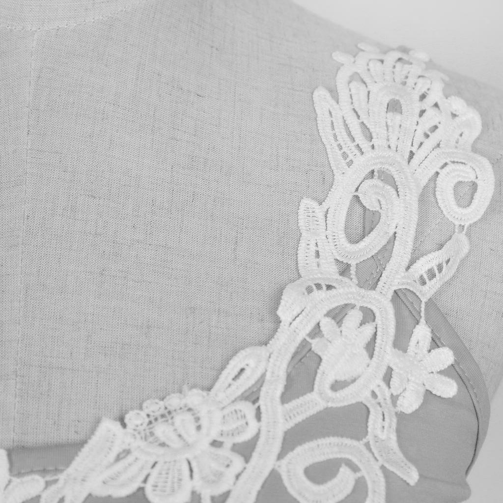 Fashion-Women-Lace-Vest-Top-Tank-Casual-Blouse-Top-Sleeveless-T-Shirt-Gray-S-5XL thumbnail 3