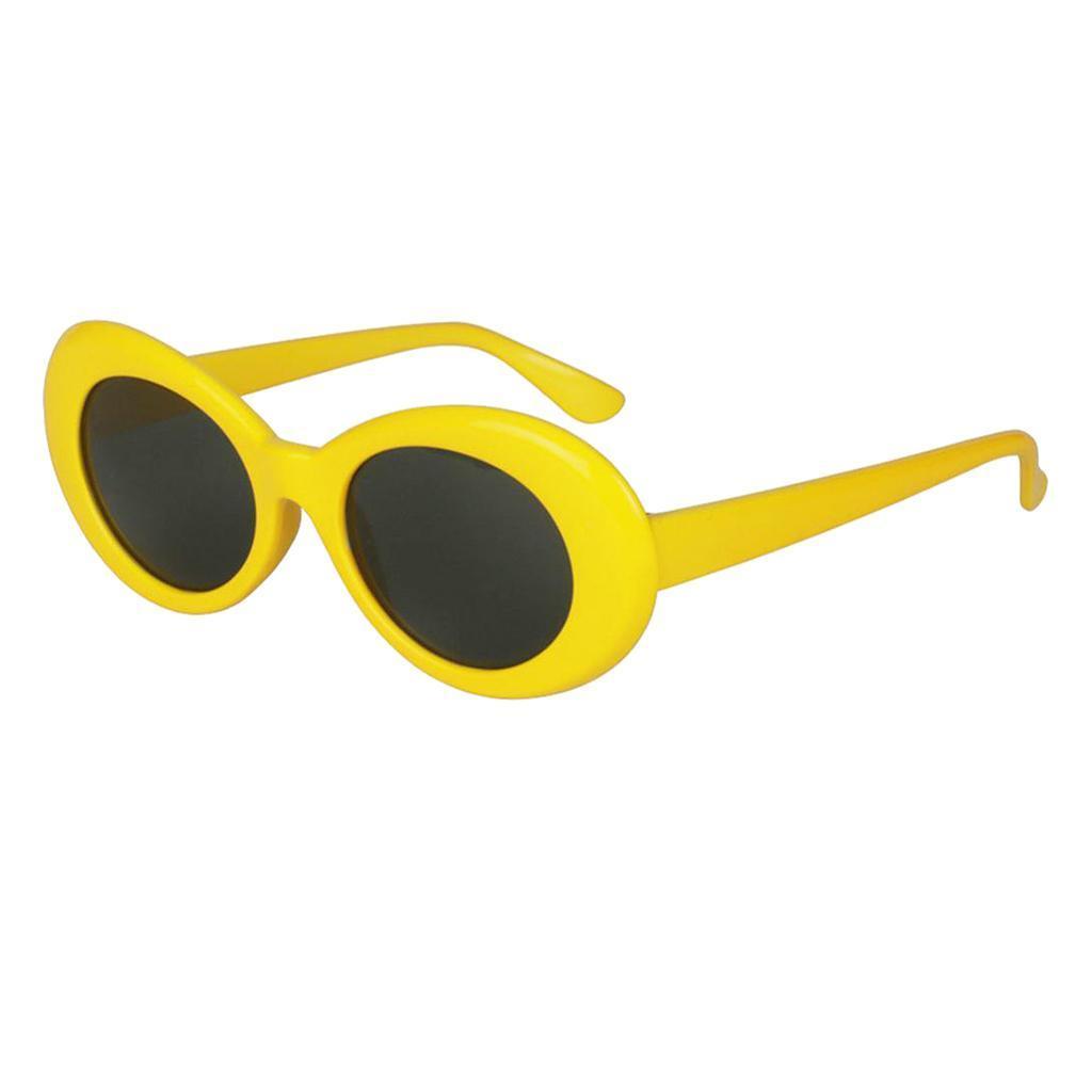 thumbnail 13 - Vintage 80s Clout Sunglasses for Women & Men, Retro Bright Colors