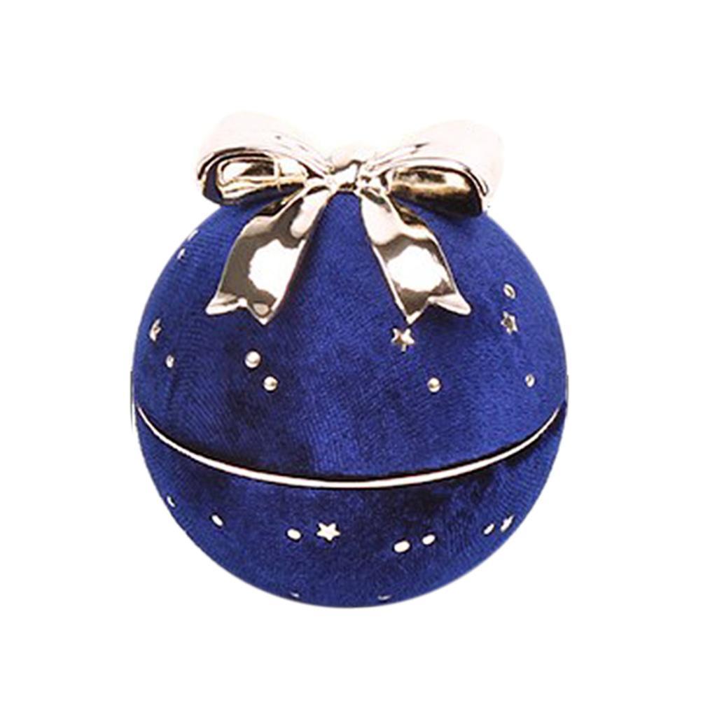 Bowknot-ronde-collier-pendentif-boite-personnelle-bijoux-vitrine-presente miniature 4