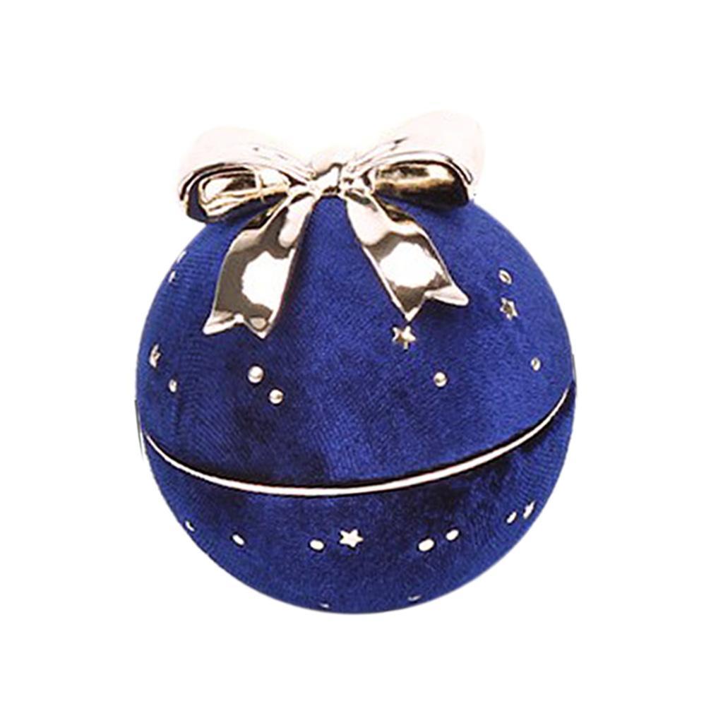 Bowknot-ronde-collier-pendentif-boite-personnelle-bijoux-vitrine-presente miniature 3