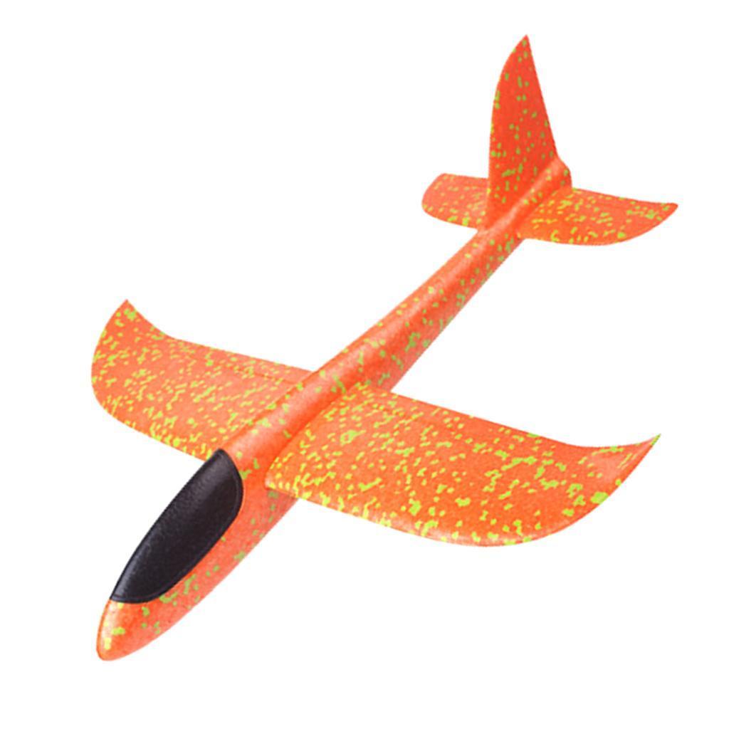 Kinder-Wurf-Segelflugzeug-Glider-Flugzeug-Spielzeug-im-Freien-33-x-34-cm Indexbild 3
