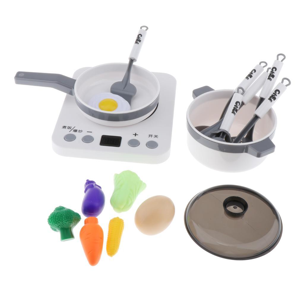 Kitchen-Pretend-Play-Accessories-Toys-Cookware-Set-Cooking-Utensils-for-Kids thumbnail 12