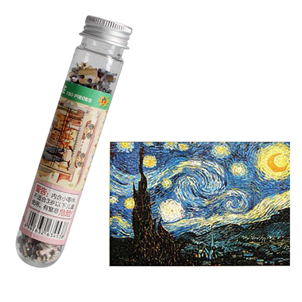 miniatura 6 - Pittura A olio di Puzzle Puzzle di Prova Tubo Capsula Gioco Di Puzzle