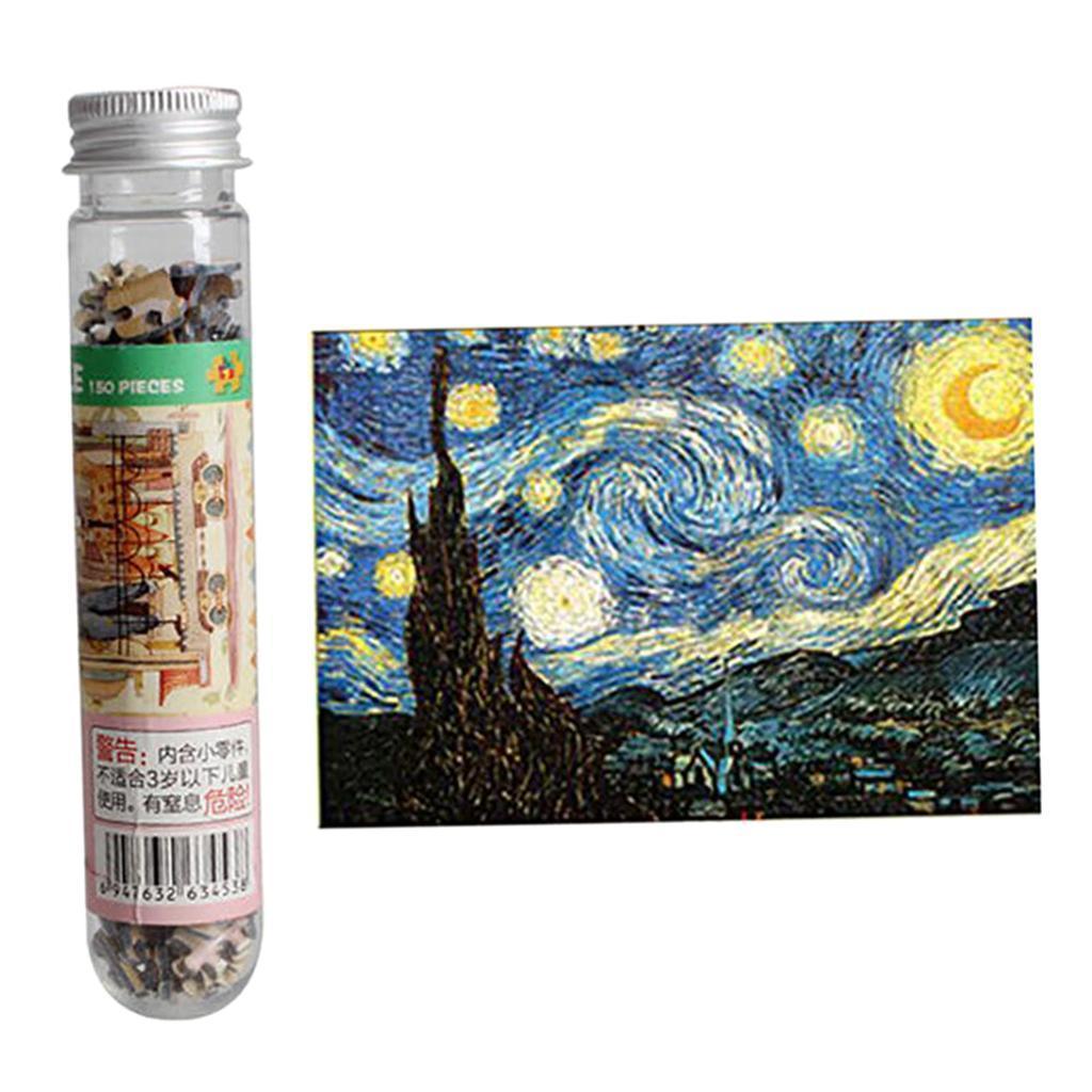 miniatura 7 - Pittura A olio di Puzzle Puzzle di Prova Tubo Capsula Gioco Di Puzzle
