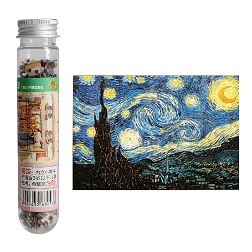miniatura 8 - Pittura A olio di Puzzle Puzzle di Prova Tubo Capsula Gioco Di Puzzle