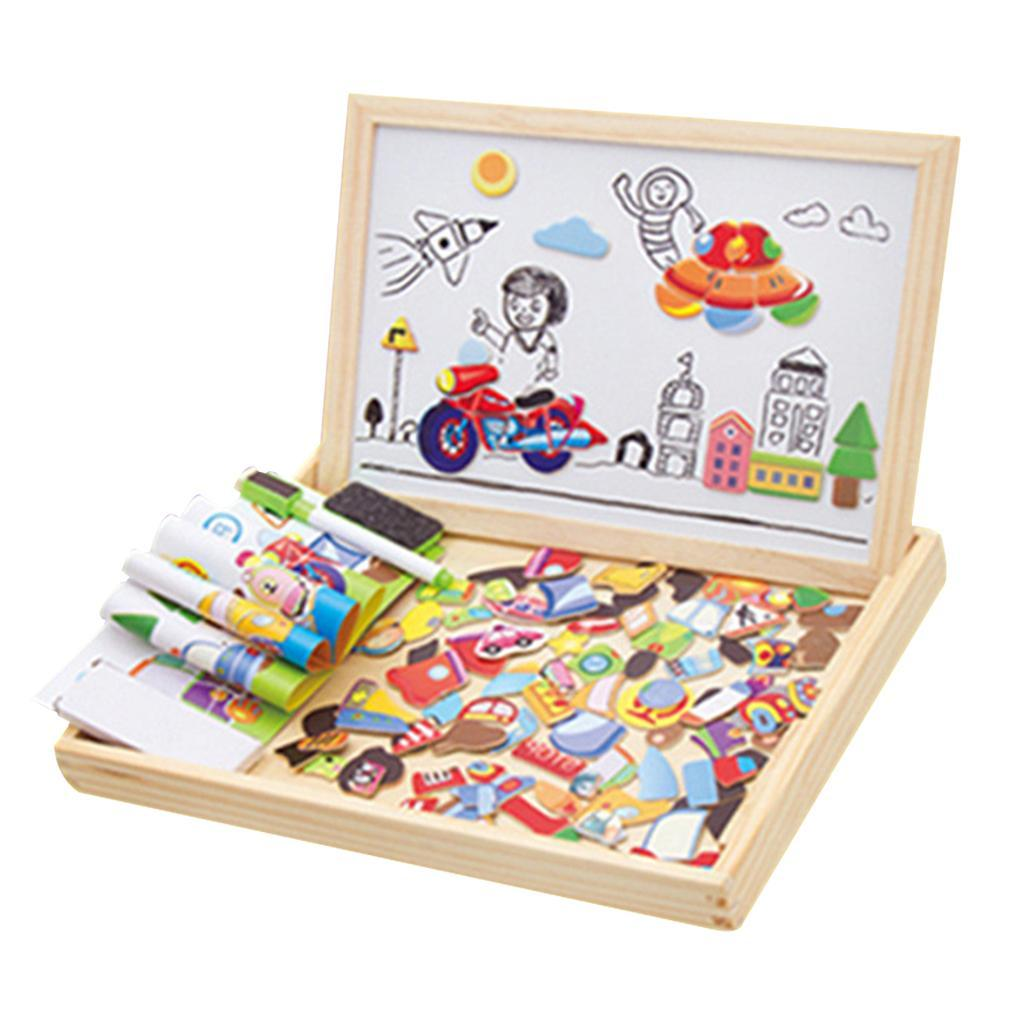 thumbnail 24 - Educational Magnetic Drawing Board 3D Puzzles Drawing Toys Halloween Gift