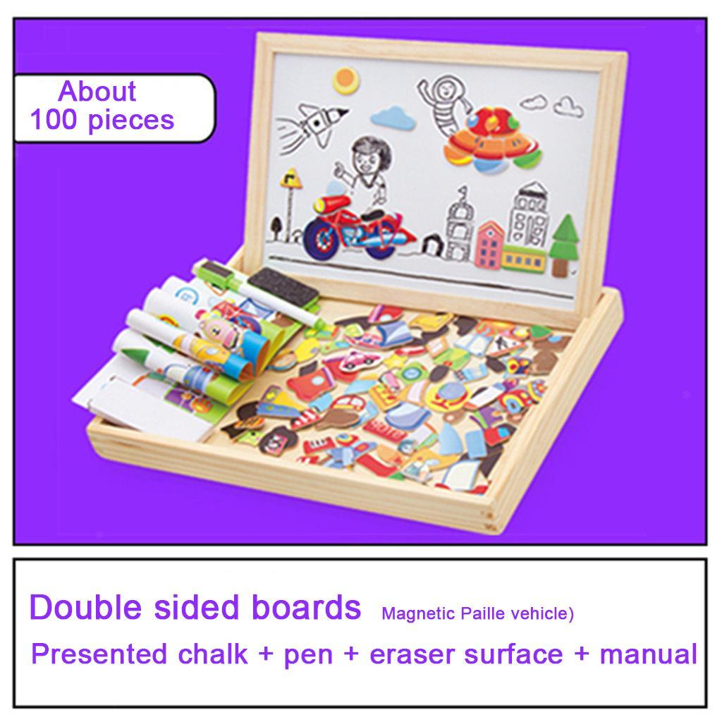 thumbnail 27 - Educational Magnetic Drawing Board 3D Puzzles Drawing Toys Halloween Gift