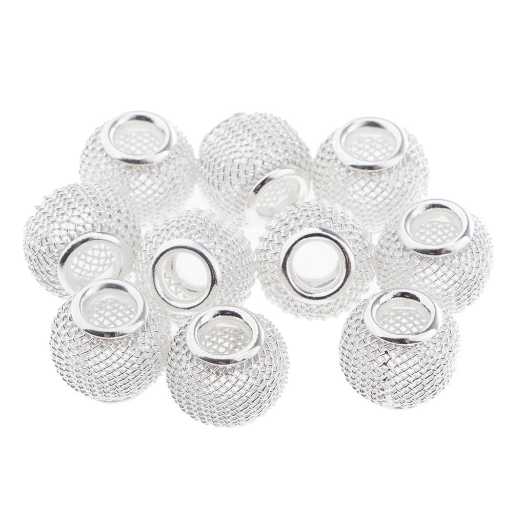 Indexbild 5 - 10 Stück Aushöhlen Metallperlen Spacer Perlen Zwischenperlen Für Schmuck
