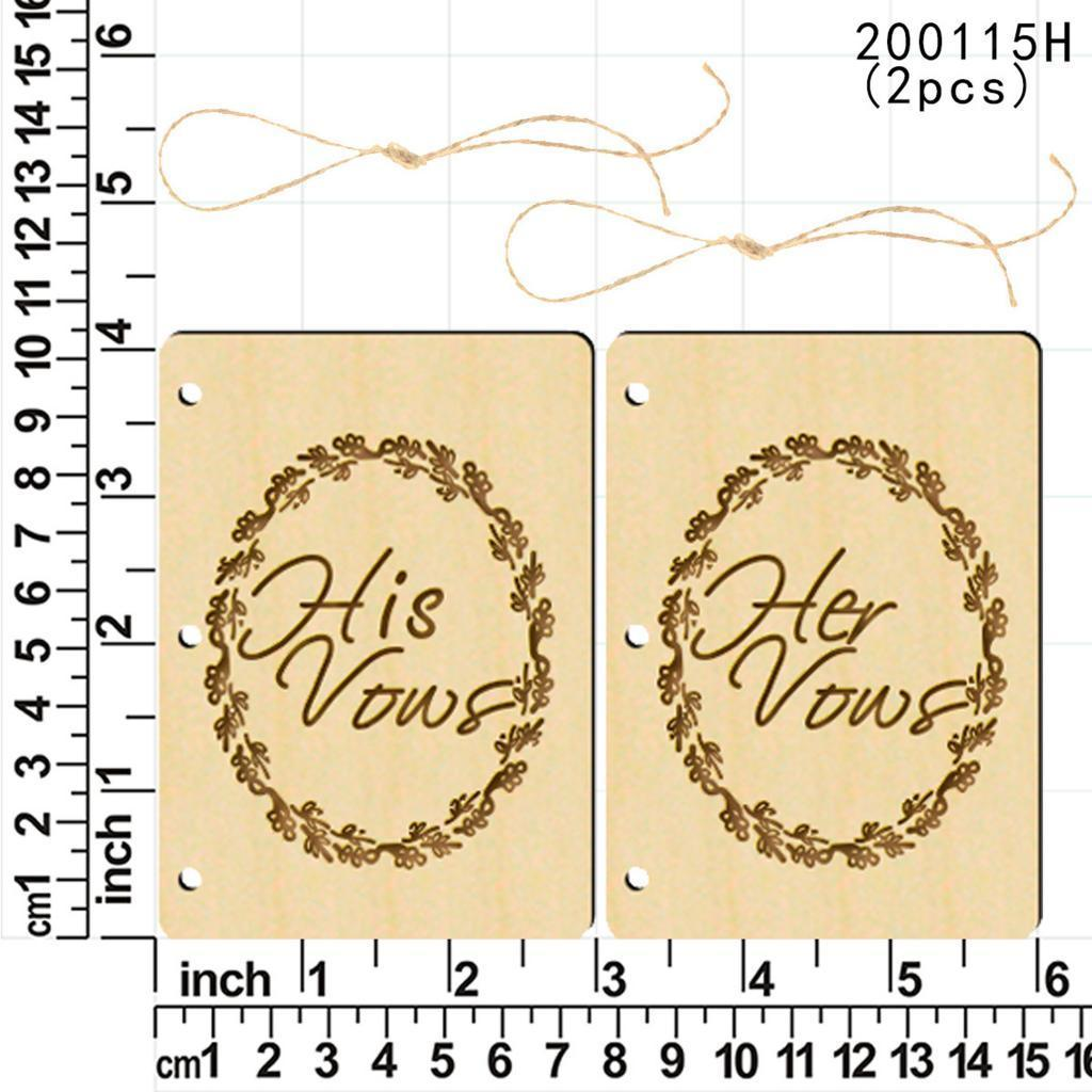 Indexbild 48 - Holz-Stueck-Holz-Tags-Zeichen-Unfinished-Hochzeit-Party-Favor-Geschenke-DIY