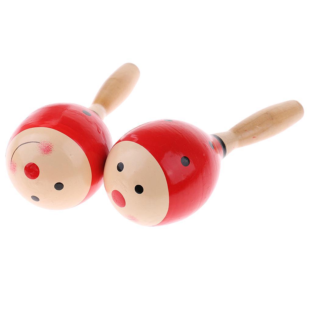 1//5x Plastic Percussion Musical Egg Maracas Shakers Kids Funny Toys 5 Colour HGU
