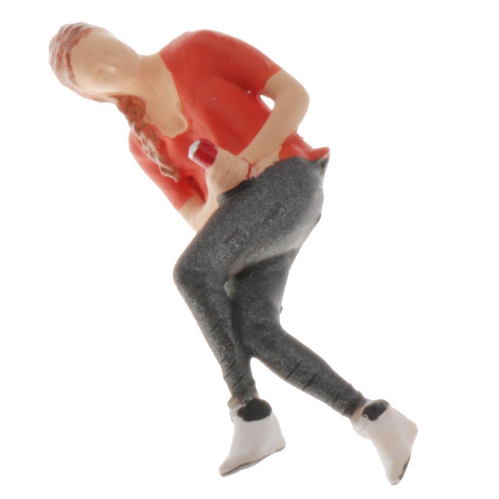 1-64-Action-Figure-Chat-Modello-Di-Personaggi-Per-Diorama miniatura 7
