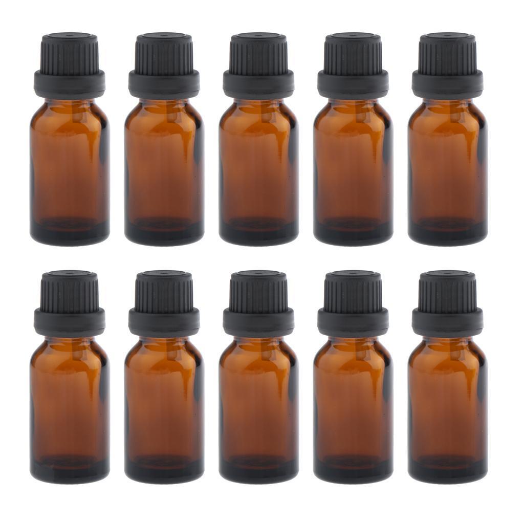 Bottiglie-Contagocce-Vuote-Da-10-Pezzi-Per-Profumo-Di-Siero-Di-Olio-Essenziale miniatura 7