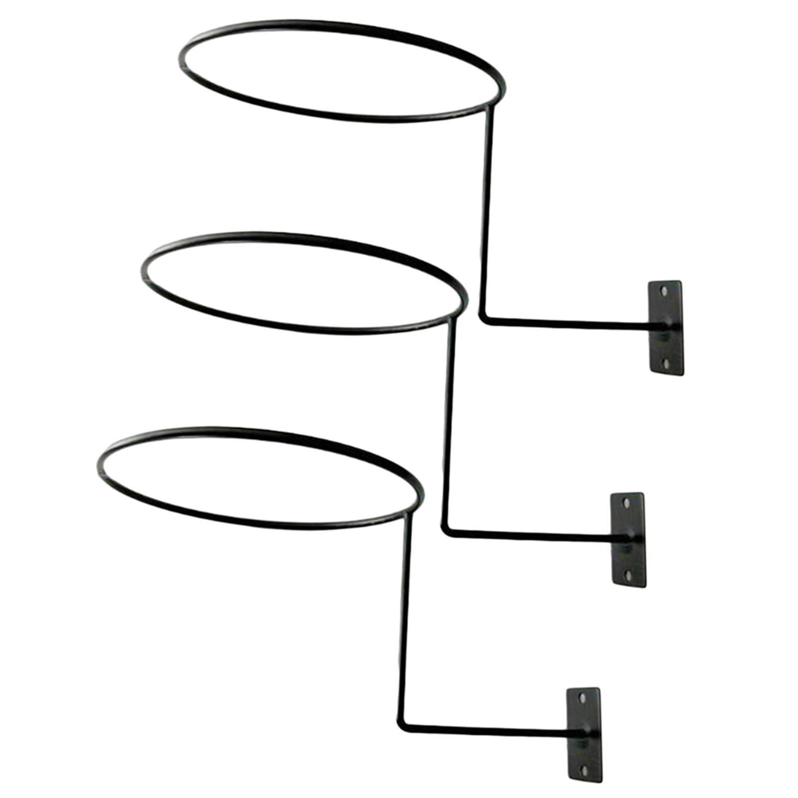 Supporto-per-casco-in-3-pezzi-supporto-per-cappello-supporto-a-muro-supporto miniatura 12