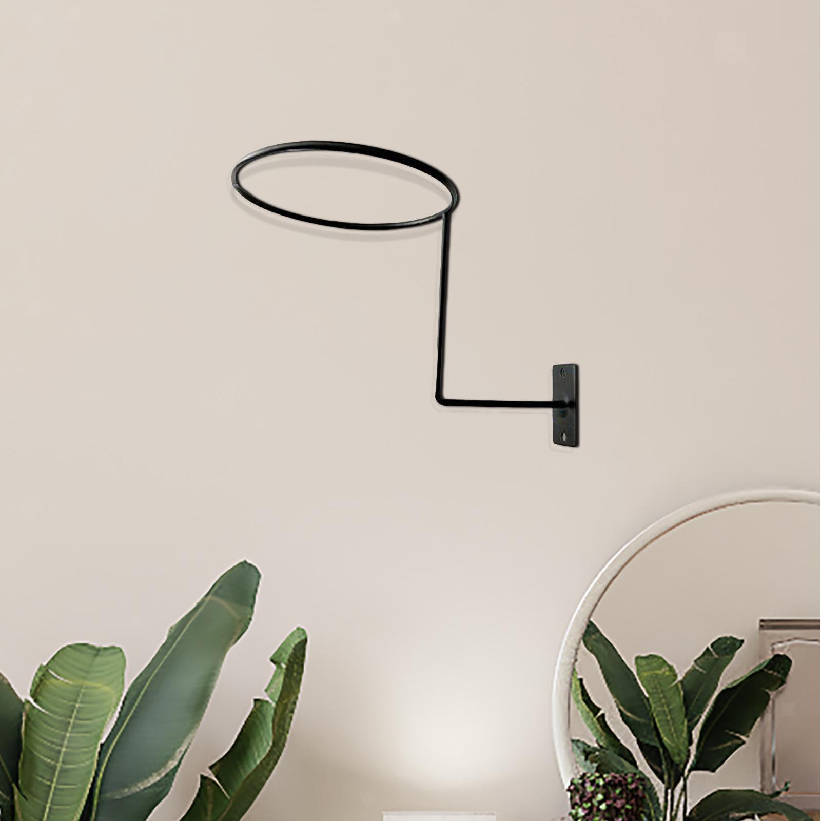 Supporto-per-casco-in-3-pezzi-supporto-per-cappello-supporto-a-muro-supporto miniatura 11